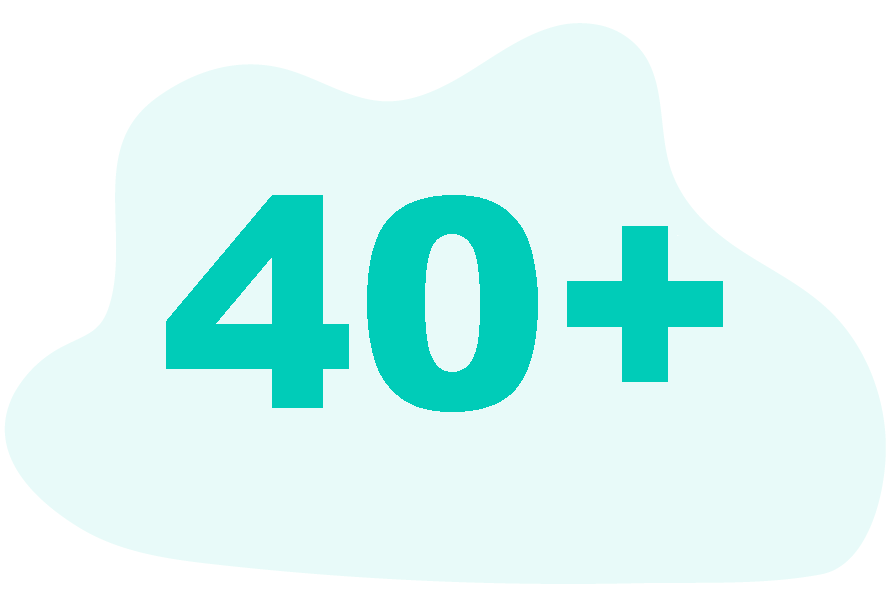 people aged 40 and more