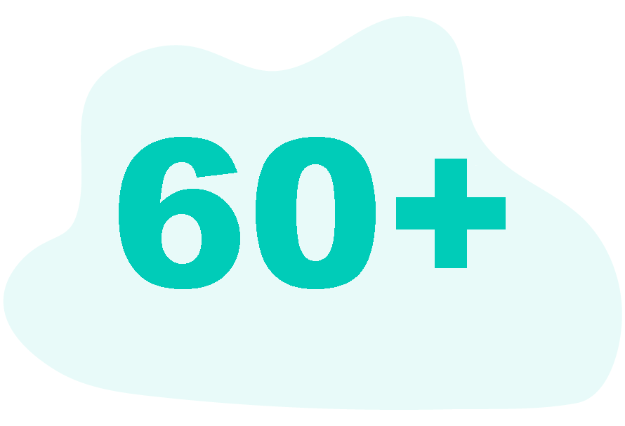 people aged 60 and more